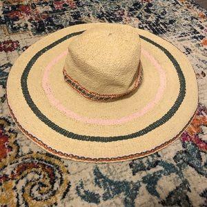Madewell straw floppy hat